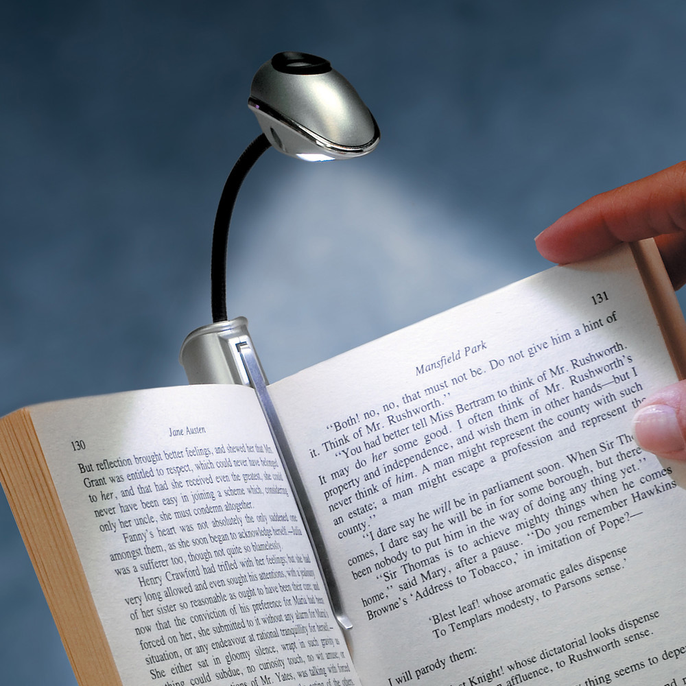Φακός - Σελιδοδείκτης  βιβλίου