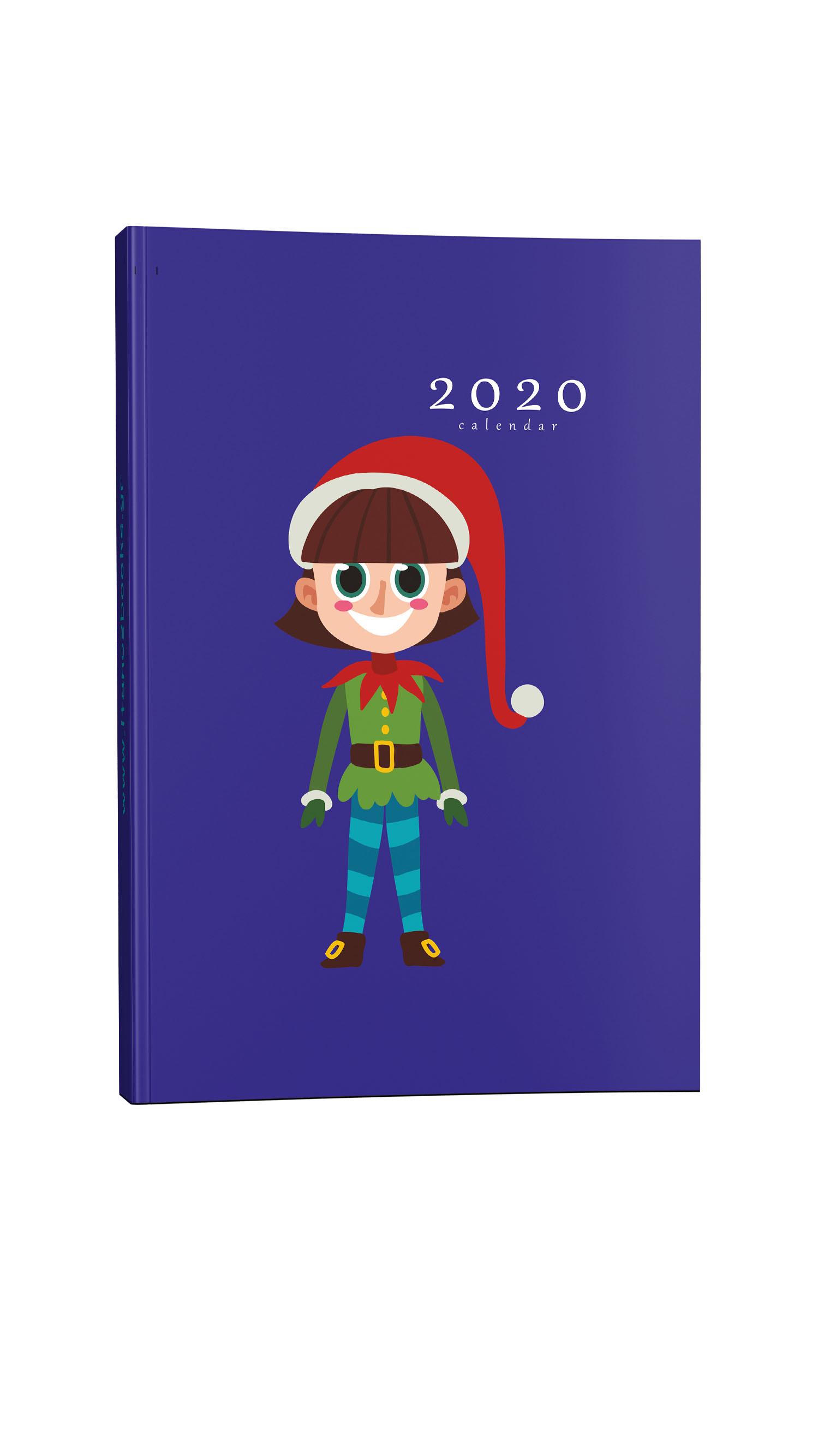 Παιδικό ημερολόγιο καλικαντζαράκι