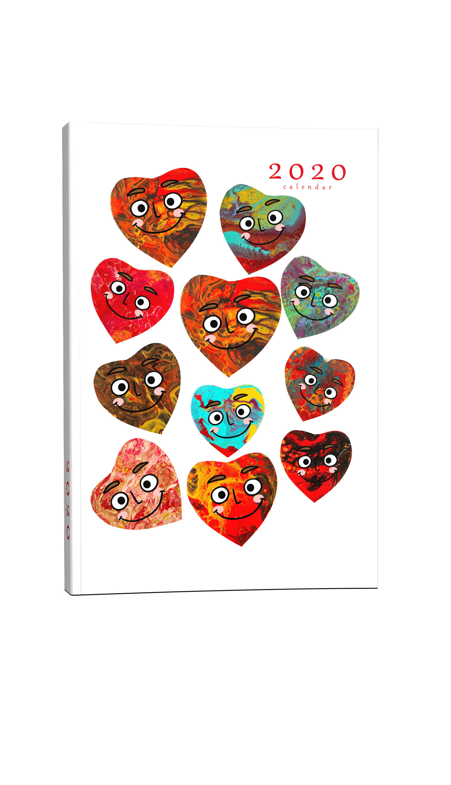 Παιδικό ημερολόγιο καρδούλες