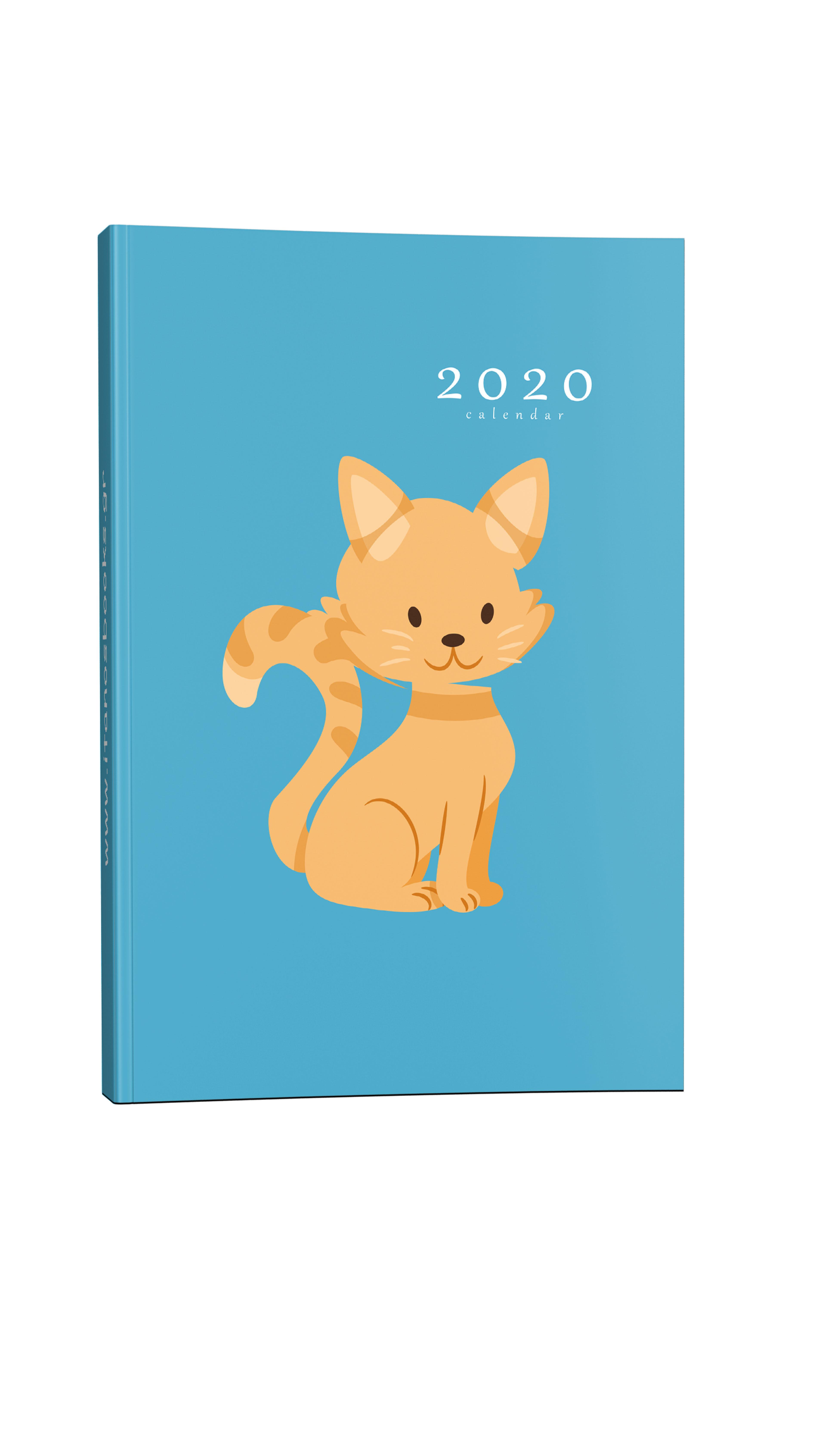 Παιδικό ημερολόγιο γατάκι