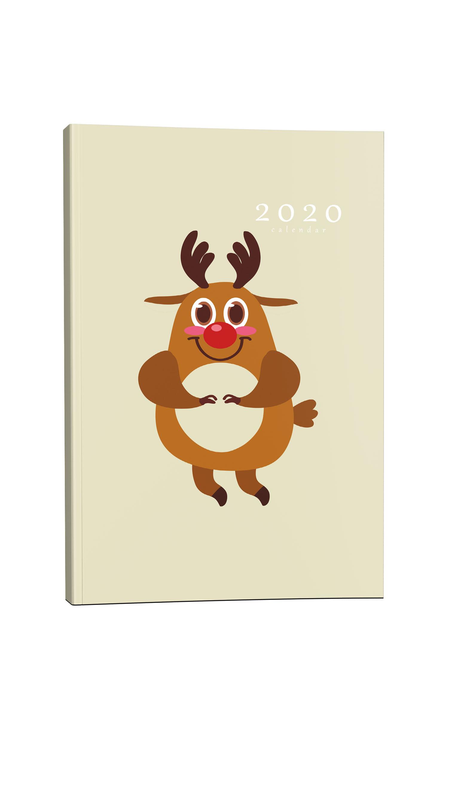 Παιδικό ημερολόγιο τάρανδος