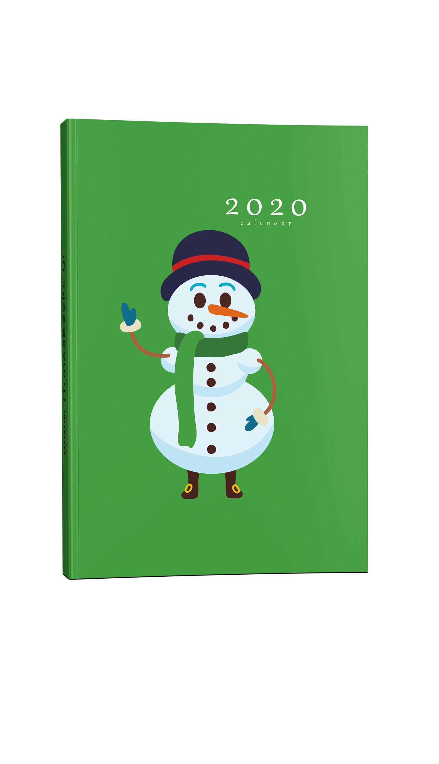 Παιδικό ημερολόγιο χιονάνθρωπος