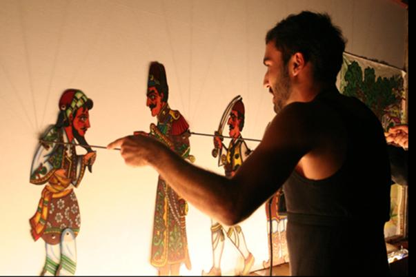 Κατασκευή δισδιάστατης φιγούρας από το Ελληνικό Θέατρο Σκιών 1
